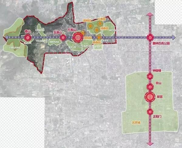 """张宇介绍,故宫北院区设计历时3年,数易其稿, 总体理念是一座""""园林中图片"""