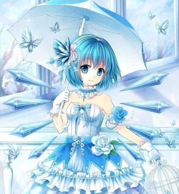 二次元动漫美图欣赏:打扮华丽,动感迷人的漂亮女生!