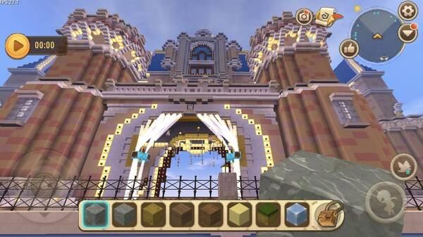 迷你世界城堡_迷你世界城堡设计图剧情介绍图片