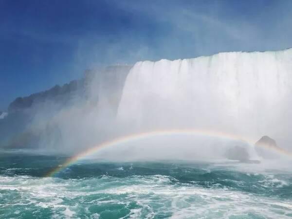 美是自由的象征_纽约,一座象征着自由的城市;尼亚加拉瀑布,一个美而震撼的地方