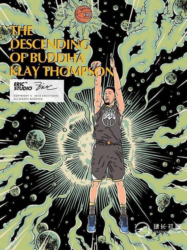 NBA社长漫画集锦:詹姆斯手握死神,杜兰特权杖漫画a社长之的球星图片