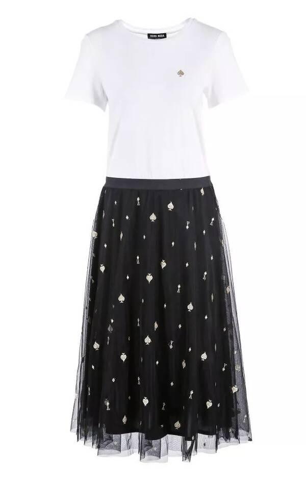 裙 装 推 荐  条纹连衣裙:修身的x廓形可以打造出纤细腰线,针织材质图片