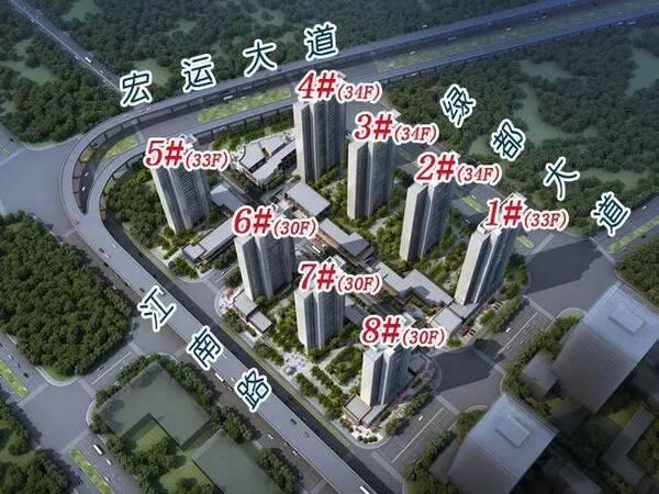 佳兆业城市广场,深业滨江半岛两大学区房收官在即!都
