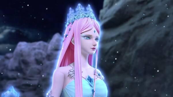 当叶罗丽仙子们改变发色后,王默热情自信,冰公主变身图片
