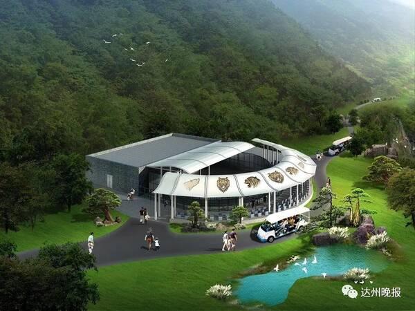 金石云顶大型野生动物园修成这样了,预计明年1月试