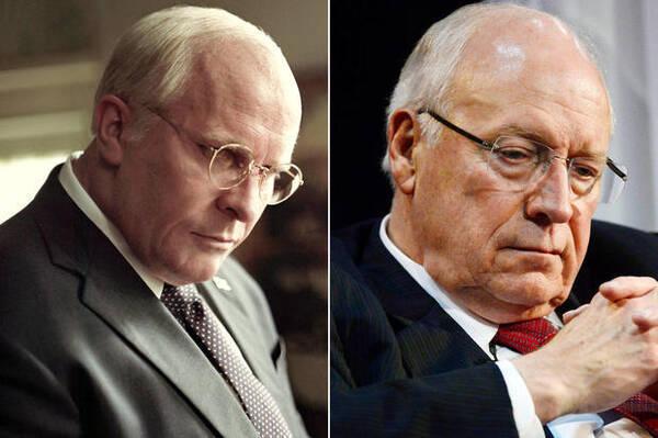 贝尔在新片《副总统》中饰演《副总统》中饰演前美国副总统迪克·切尼