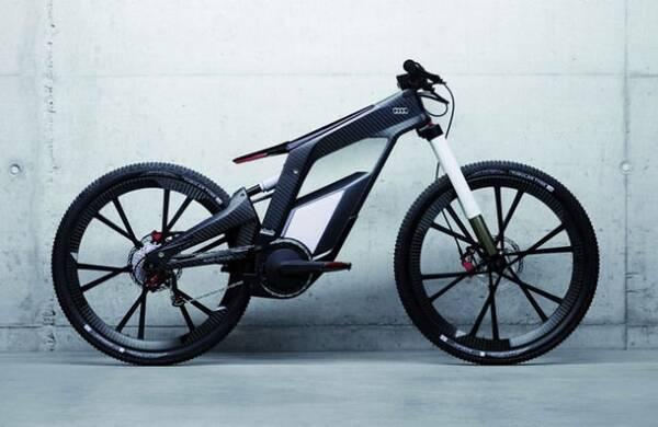 自行车框架结构仅有 1.6 公斤,不含电池的情况下整车重量也才21公斤.