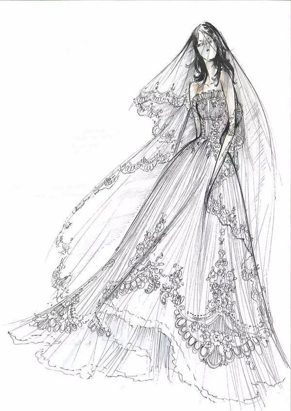 1, 300张服装设计手稿马克笔水彩服装插画手绘临摹素材图   2,手