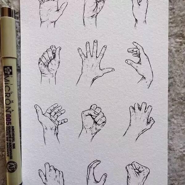 父子漫画简单人物图片展示速写文步骤图片