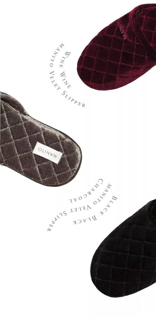 manito 真丝家居拖鞋采用6a级桑蚕丝而织, 穿着时带来舒适的享受, 让