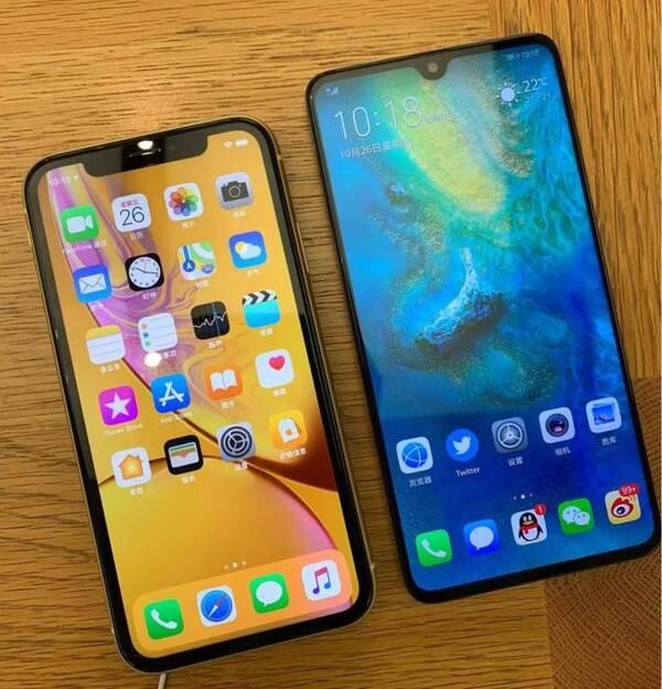 苹果iphone xr对比华为mate20,告诉你哪个更值得购买