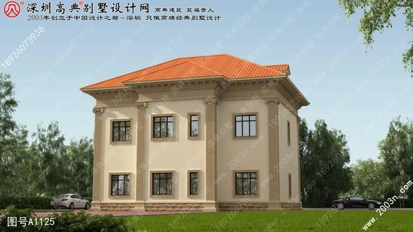 农村房子设计图首层146平方米别墅设计图纸