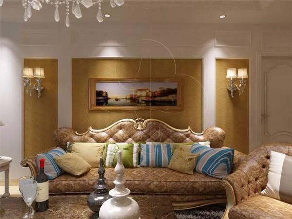 04 欧式风格 是以古典柱式为中心的风格,墙面一般布有线条装饰;通过