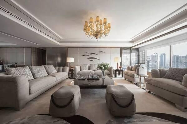 扁平化别墅大平层豪宅设计,你心动了吗?