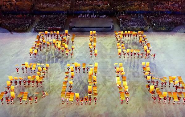 2016年8月22日,2016年里约奥运会:闭幕式举行。