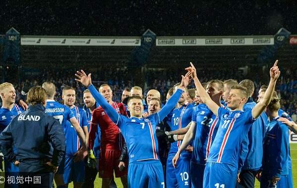冰岛首进世界杯