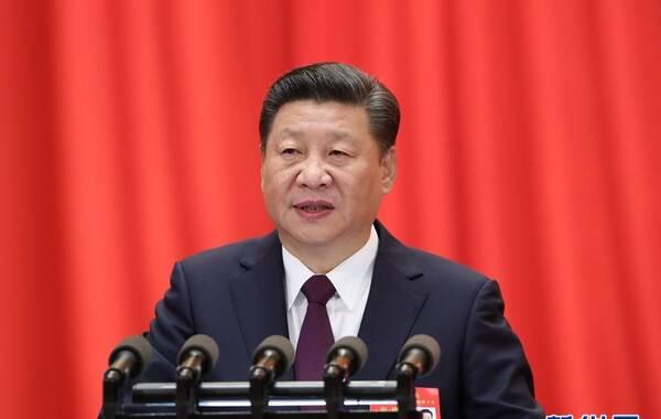10月18日,中国共产党第十九次全国代表大会在北京人民大会堂开幕。新华社记者 张铎 摄
