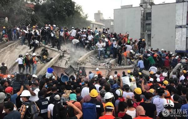 當地時間9月19日下午,墨西哥中部莫雷洛斯州發生7.1級地震,截至目前死亡人數升至195人,全國400萬人斷電。首都墨西哥城震感強烈,機場一度暫停全部航班。文:新華網