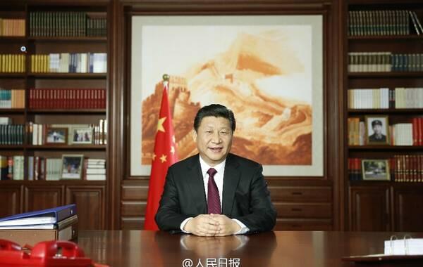 习近平在31日发表新年贺词,称2014年中国锐意改革啃下了不少硬骨头,各级干部也是蛮拼的,称我要为我们伟大的人民点赞。