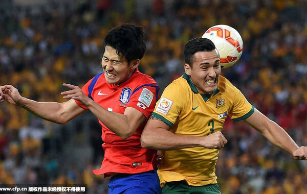 2015年01月31日,澳大利亚,2015亚洲杯决赛,韩国Vs澳大利亚。