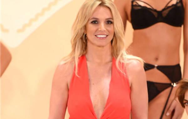 纽约,当地时间9月9日,内衣系列The Intimate Britney Spears发布活动。