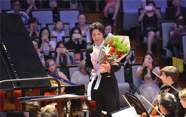迪图瓦、李云迪与美国国家青年交响乐团音乐会