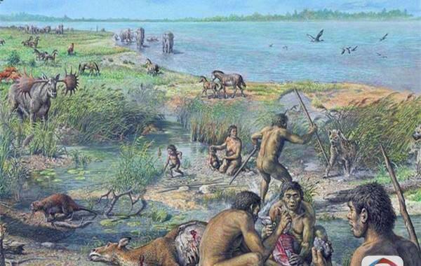 """马鹿洞人复原图。历经对一根神秘人腿骨化石的数年研究,中国和澳大利亚古人类学家发现,1.4万年前生活在中国云南蒙自的""""马鹿洞人""""虽然一直生存到农耕文明曙光前一刻,但却保留着能人或直立人的许多特征。""""马鹿洞人""""到底是谁?是能人、还是直立人,或是智人?他们又为何隐居中国西南一隅?研究主要领导者、云南省文物考古研究所古人类研究部主任吉学平与澳大利亚新南威尔士大学教授达伦·科诺17日在美国《科学公共图书馆·综合》期刊上发表论文,震撼地揭开这一人种的神秘面纱。"""