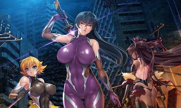 3D女忍者《对魔忍》将发布RPG手游新作