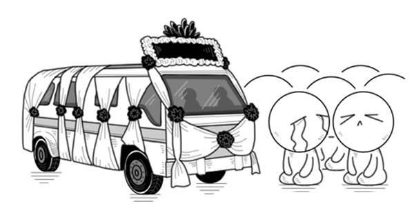 大鱼漫画:泰王崩,万民跪,21世纪怎么有泰国这样的国家?