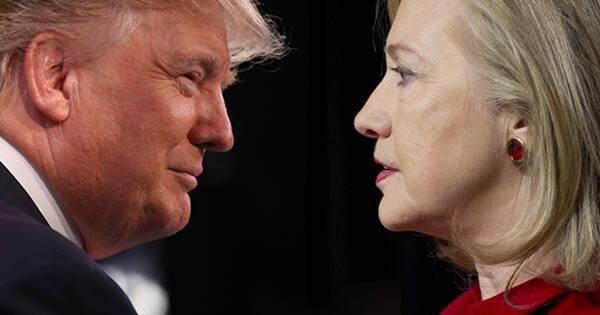 最后一撕!2分钟看完特朗普VS希拉里第三场辩论