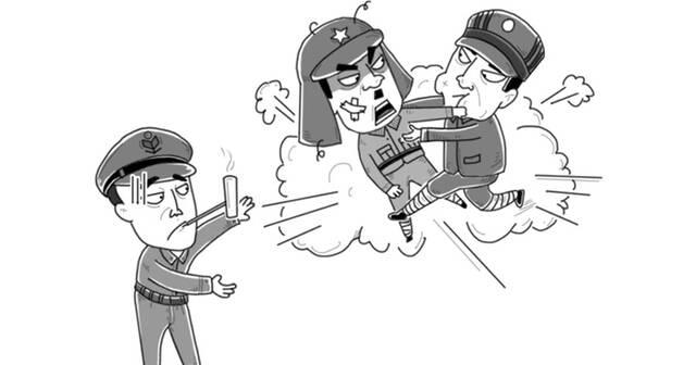 大鱼漫画:同是美国小跟班,日韩相煎何太急?