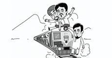 大鱼漫画:亚洲第一到世界杂耍,印度铁路努力了100年