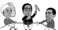 大鱼漫画:津巴布韦政变落幕,北大校友完胜人大校友