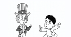"""大鱼漫画:三个关键词看懂""""中美贸易战""""到底怎么回事"""