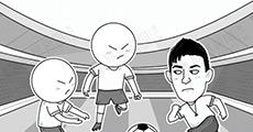 大鱼漫画:我们到底落后日本足球多少年?