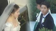 婚礼现场:宋慧乔白色婚纱美炸!