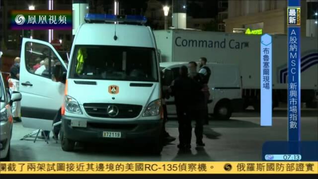爆炸案定性为恐袭 大批警员现场戒备
