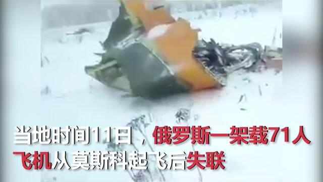 飞机坠毁现场画面曝光