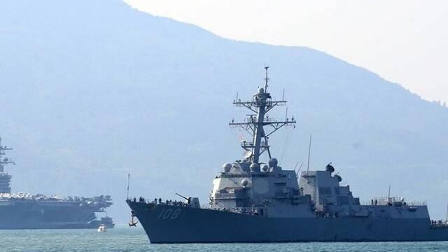 时隔43年美军航母重返越南,但它没能力掀起战争