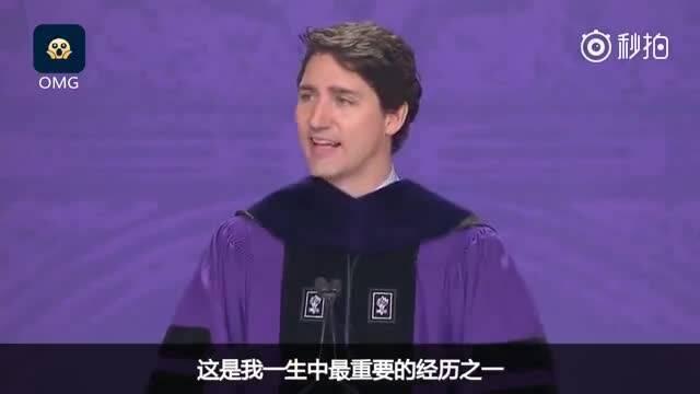 加拿大总理纽约大学毕业致辞:年轻人要多见世面