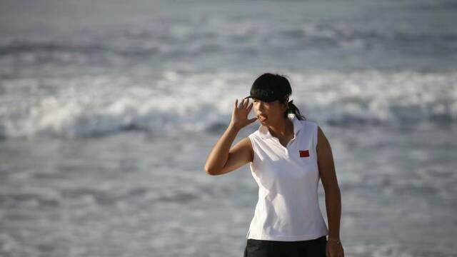 老照片|2006年冯珊珊备战多哈亚运会