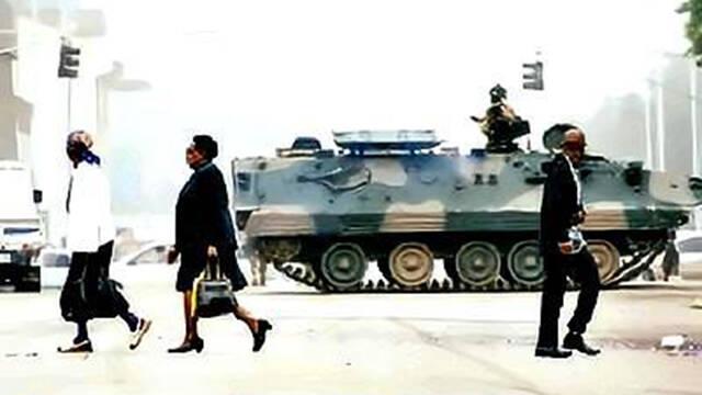 津巴布韦民众接受BBC电视台采访:感谢将军