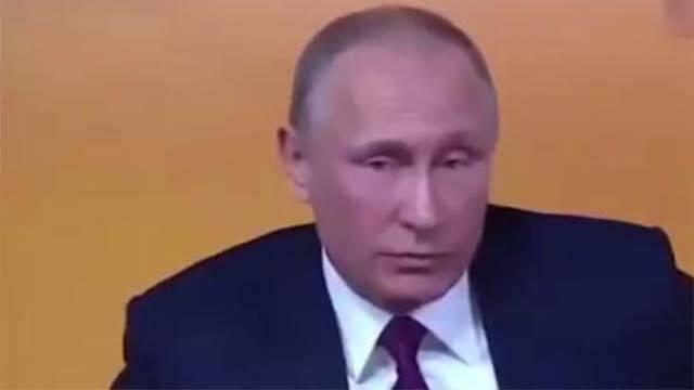 反对派候选人记者会上发难 普京这样机智回应