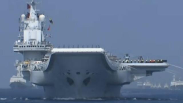 中国历史上最大规模的海上阅兵(完整版)