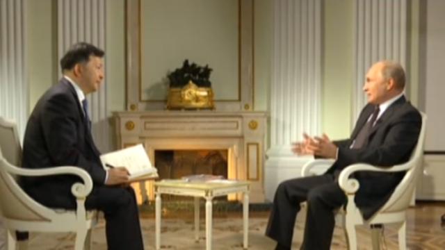 完整视频:普京接受中央广播电视总台台长专访