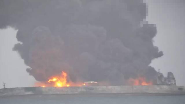 """""""桑吉""""号油船沉没:对我国大气环境影响较小"""