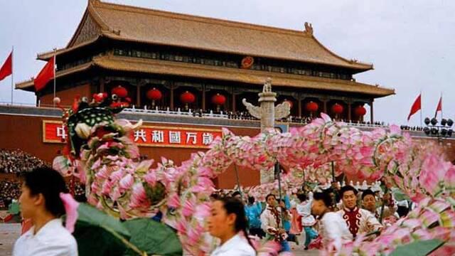 新中國成立10周年國慶年珍貴彩照