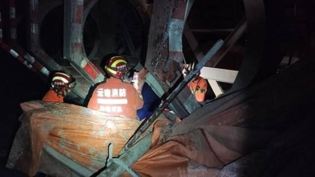 云南在建隧道突泥涌水事故