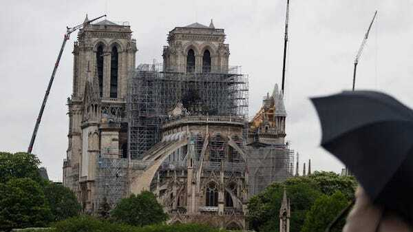 巴黎圣母院可能永远无法从火灾损失中复原?
