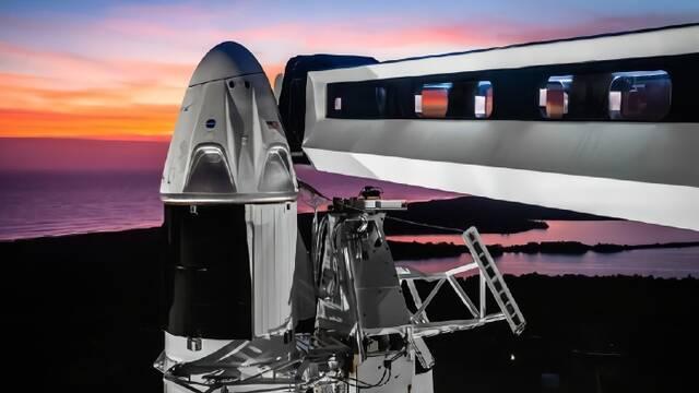 """马斯克的龙飞船上天""""圈地"""",距离火星殖民还有多远?"""